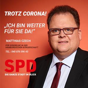 Bürgerschaftsabgeordneter Matthias Czech